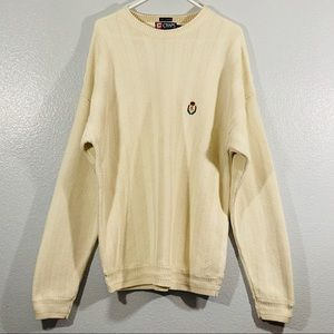Chaps Ralph Lauren Hand Framed Oversized Sweater